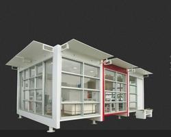 Industrial Bunkhouse Cabin