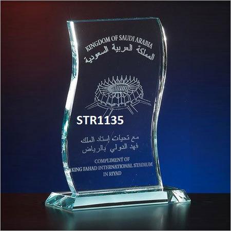 RASPER  Crystal Acrylic Trophy LEHAR