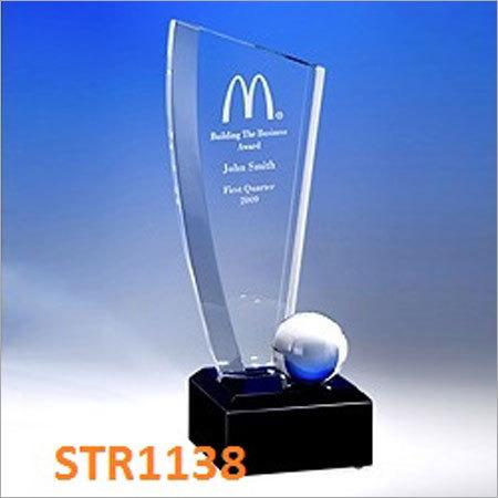 RASPER  Acrylic Award Trophies