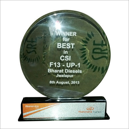 acrylic awards custom