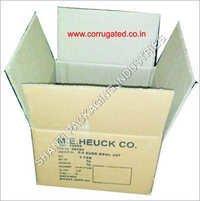 Screen Printed Corrugated Carton