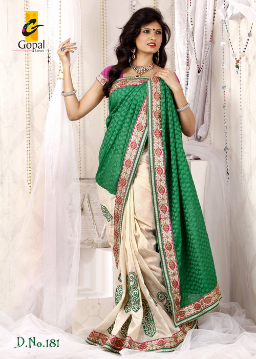Attractive Party Wear Saree