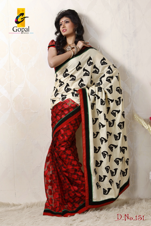 New Trend Style saree