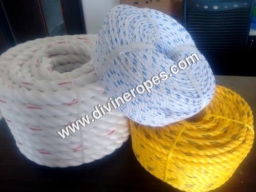 3 Strand Polypropylene Ropes