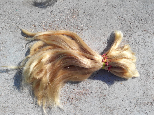 Colored indian Human Hair