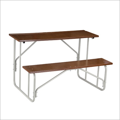 Wooden Classroom Bench