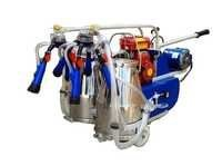 Portable Double Bucket Milking Machine