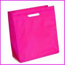 Plastic Bag With Loop Handle Bag