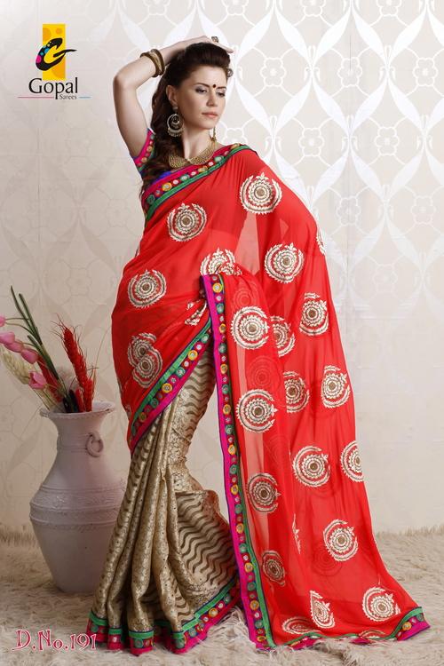 Cotton Jecquard Saree