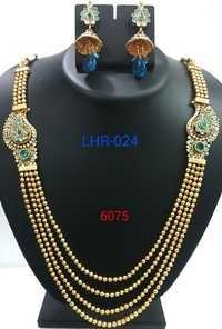 Kundan Studded Necklace Set