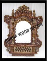 wooden jharokh