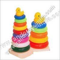 Plastic Teddy Rings