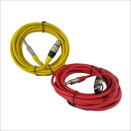 XLR (Male/ Female) to Mono Stereo P38 Cable