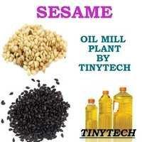 Sesame Oil Mill Plant