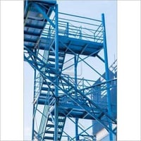 Metal Fire Staircase