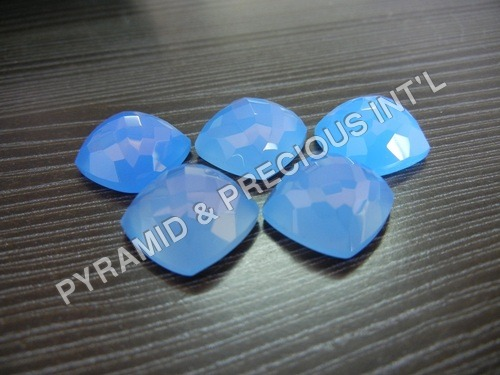 Blue Chalcedony Gemstone