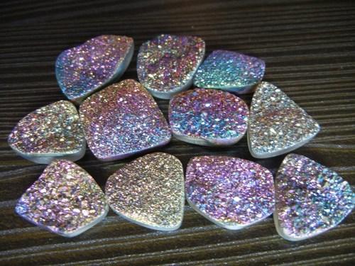 Titanium Druzy Gemstone