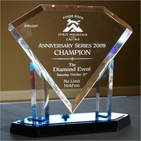 DIAMOND STAND  TROPHY