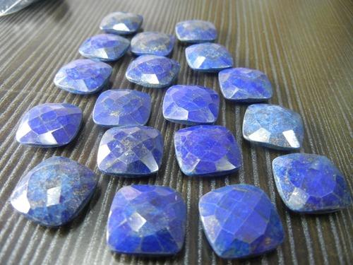 Lapis Cushion Shape Gemstones