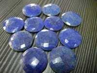 Lapis Round Chakra Briolite