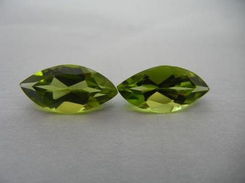 Peridot Marquise shape Fancy Gemstone