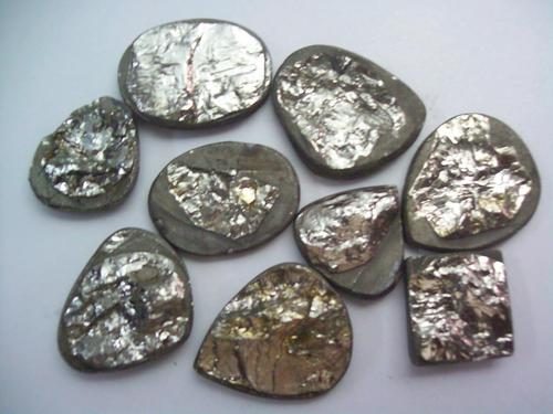 Pyrite Natural Cabochon