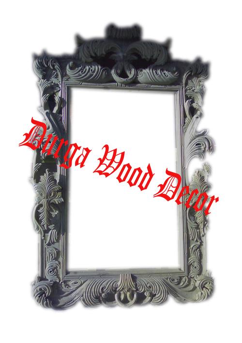 Carved Wooden Mirror Frames