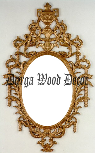 Beautiful Wooden Mirror Frame