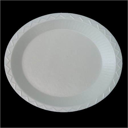 Thermocol Plain Round Plate