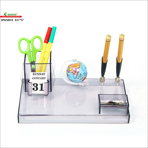 Office Pen Stand With Globe