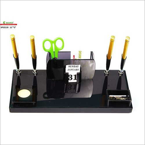 Office Pen Stand With Four Pen Holder