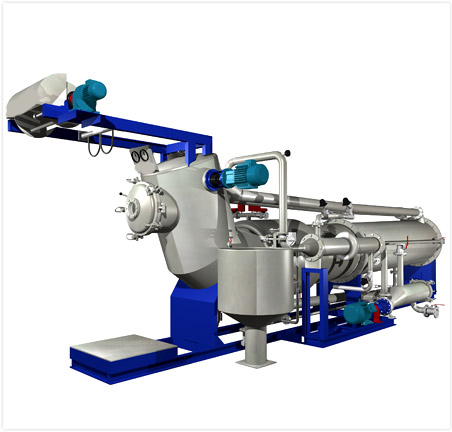 Top Tube Soft Flow Dyeing Machine