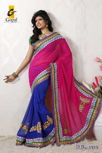 Wonderful Marble Saree
