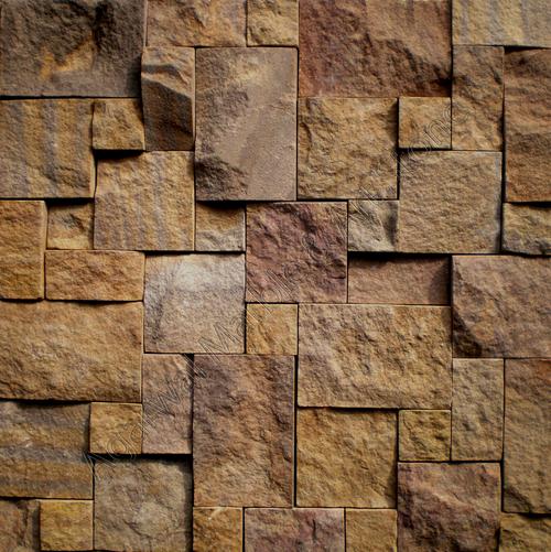 Rock Face Stone Mosaic