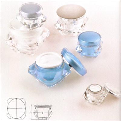 Cosmetic Acrylic jars