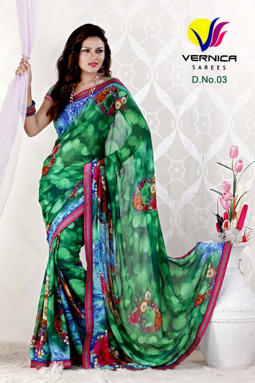 Attractive Printed Saree