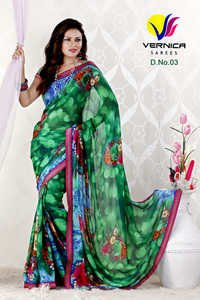 Attractive Printed Saree