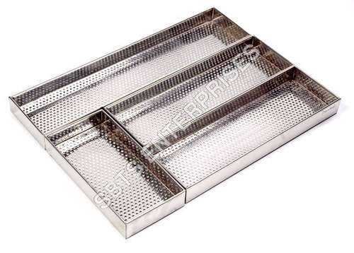 STAINLESS STEEL CUTLERY BOX