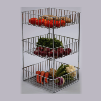 VEGETABLE & FRUIT RACK