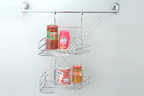 Hanging Double Corner Rack