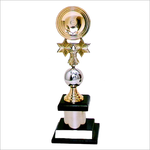 Brass Gold Chrome Plated Trophy