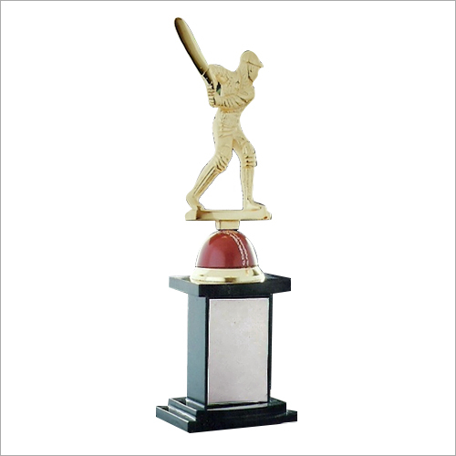 Brass Cricket Trophy