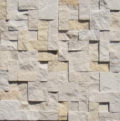 Spanish Beige Random Pattern Mosaic Tiles