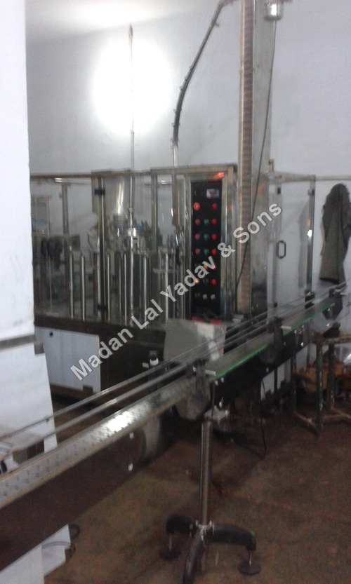 Automatic filling machine 60 bpm