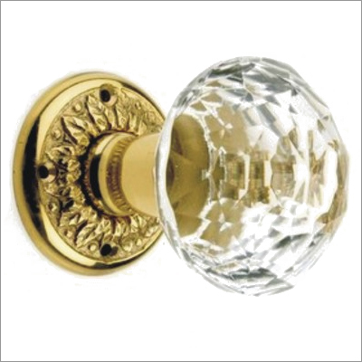 Crystal Door Rim Knob