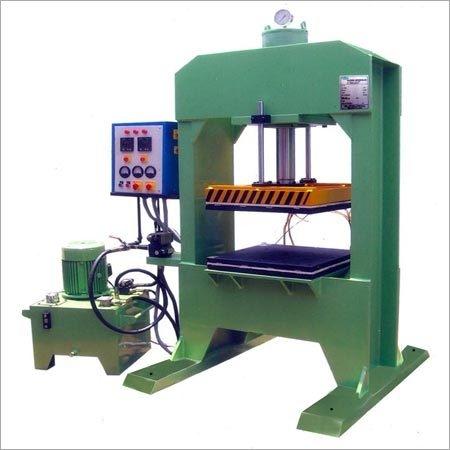 H Frame Ruber Molding Machine