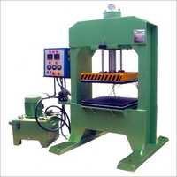 H Frame Ruber Molding Machine