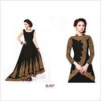 Black Anarkali Long Suits