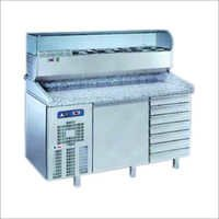 Pizza Assembly Refrigeration Counter