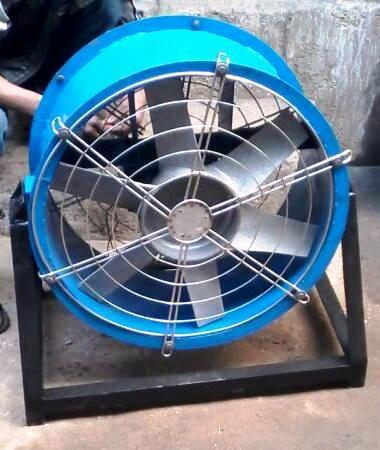 Tilting Axial Flow Fan